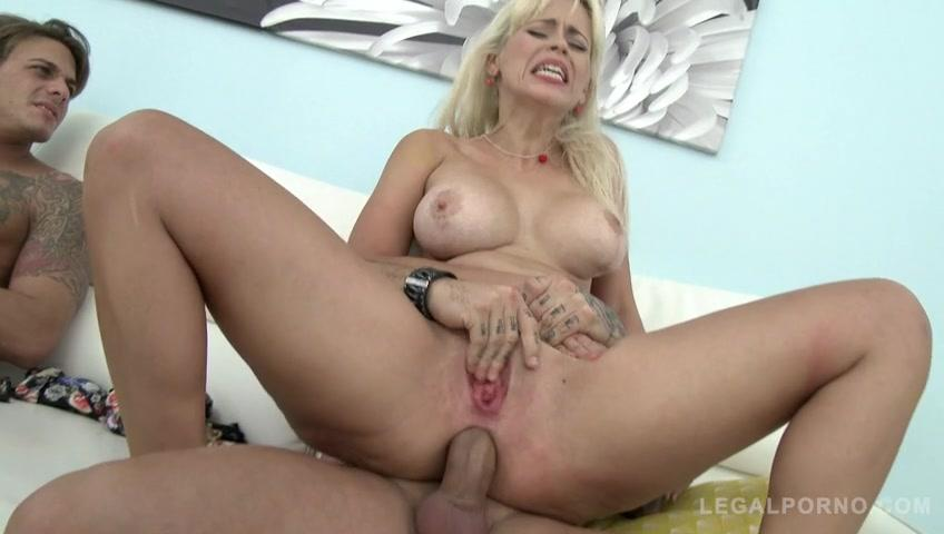 image Anal angel creampie castig couch blonde split screen